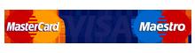 Reigate Taxi -visa-mastercard-maestro